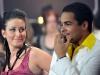 Genevieve et Charles-Eric, quelques seconde avant l'annonce des gagants - Grande finale de Loft Story 5