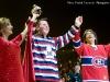 Nathalie Choquette, Maxime Landry, Kent Nagano - l Orchestre Symphonique de Montréal, sous la direction du chef Kent Nagano, a vu à souligner à sa façon les 100 ans du club de hockey Canadien de Montréal.