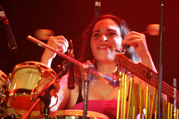Spectacle de la formation OMEGADOM au Theatre Plaza de Montreal, le 7 novembre 2008.