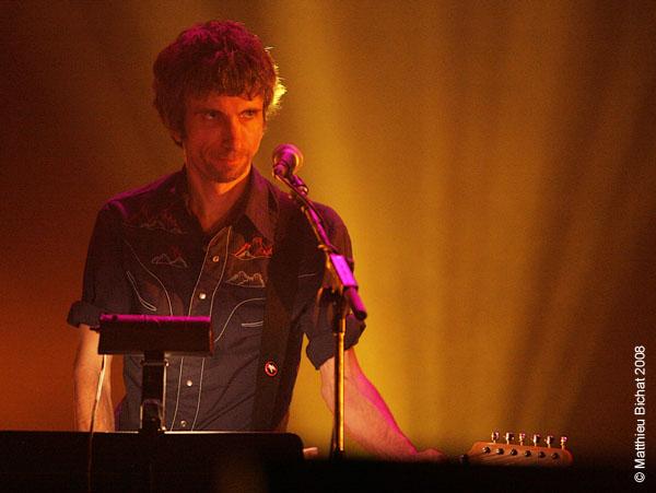 Eric Goulet (alias Monsieur Mono). Spectacle -Pauline a la Page- en hommage a Pauline Julien, dans le cadre du 22eme Coup de Coeur Francophone, au Theatre Outremont de Montreal, le 8 novembre 2008.