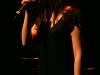 Viviane Audet. Spectacle -Pauline a la Page- en hommage a Pauline Julien, dans le cadre du 22eme Coup de Coeur Francophone, au Theatre Outremont de Montreal, le 8 novembre 2008.