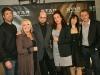 Les professeurs Stephane Quintal, Johanne Blouin, Michel Rivard, Sophie Faucher, Genevieve Dorion-Coupal et Patrick Huard. STAR ACADEMIE 2009 - 5eme Gala - Studio Mels de Montreal le 8 mars 2009.