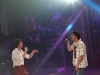 Jean-Philippe et Sebastien Ricard (qui incarne Andre Fortin a l ecran). STAR ACADEMIE 2009 - 5eme Gala - Studio Mels de Montreal le 8 mars 2009.