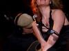 Coral Egan. Enregistrement des emissions STUDIO 12 du 7, 8 et 9 fevrier dans les locaux de Radio-Canada, le 5 fevrier 2009. Artiste principale Bia, invites Chic Gamine, Coral Egan et Thomas Hellman.
