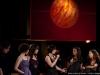 Enregistrement des emissions STUDIO 12 du 7, 8 et 9 fevrier dans les locaux de Radio-Canada, le 5 fevrier 2009. Artiste principale Bia, invites Chic Gamine, Coral Egan et Thomas Hellman.
