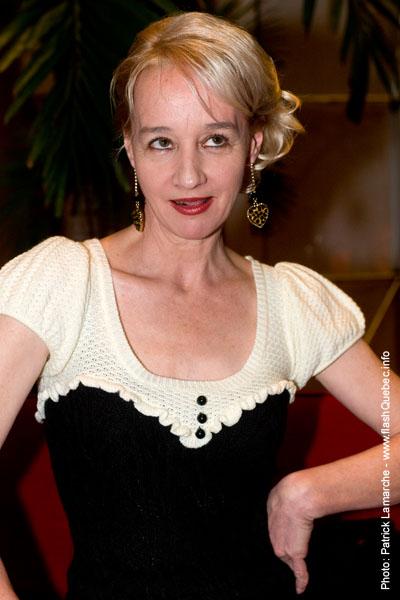 Diane Lavallee - Premiere du film le grand depart - Place des arts - 9 decembre 2008