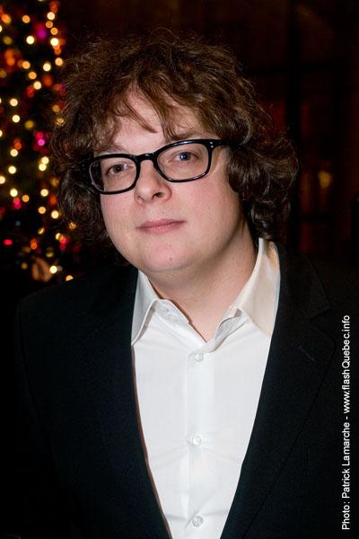 Patrick Drolet - Premiere du film le grand depart - Place des arts - 9 decembre 2008