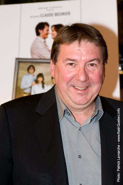 Remy Girard -Premiere du film le grand depart - Place des arts - 9 decembre 2008