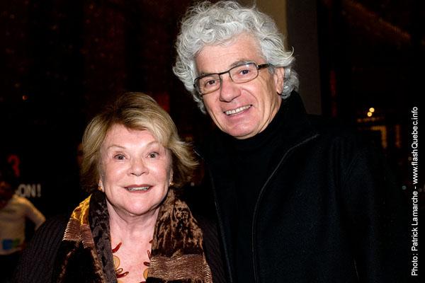 Janette Bertrand  - Premiere du film le grand depart - Place des arts - 9 decembre 2008