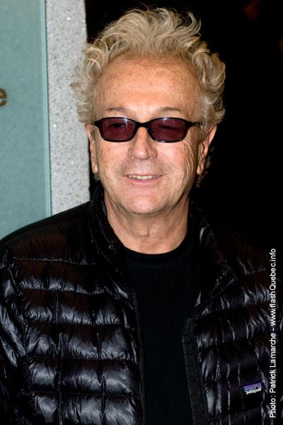 Luc Plamondon - Premiere du film le grand depart - Place des arts - 9 decembre 2008