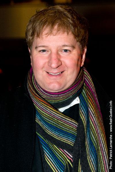 Benoit Briere - Premiere du film le grand depart - Place des arts - 9 decembre 2008