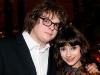 Patrick Drolet et Sophie Demarais - Premiere du film le grand depart - Place des arts - 9 decembre 2008