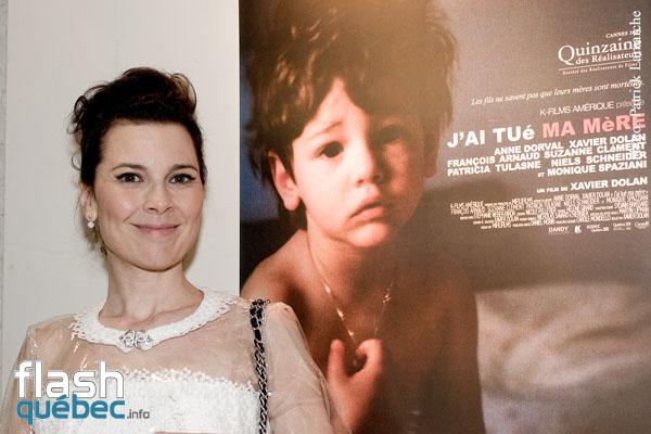 """Anne Dorval - Première Québécois du film de Xavier Dolan """"J'ai tué ma mère"""" au cinéma Impérial de Montréal."""