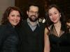 Marie-Chantal Perron, Alexis Martin et Maude Laurendeau. Premiere du film BABINE de Luc Picard au Theatre Maisonneuve de la Place des Arts de Montreal, le 24 novembre 2008.