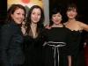 Marie-Chantal Perron, Maude Laurendeau, Marie Brassard et Isabelle Richer. Premiere du film BABINE de Luc Picard au Theatre Maisonneuve de la Place des Arts de Montreal, le 24 novembre 2008.