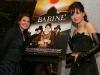 Marie-Chantal Perron et Isabelle Richer. Premiere du film BABINE de Luc Picard au Theatre Maisonneuve de la Place des Arts de Montreal, le 24 novembre 2008.