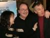 Louise Portal, Robert Menard (realisateur) et Gaston Lepage. Premiere du film -LE BONHEUR DE PIERRE- au Cinema Imperial de Montreal, le 23 fevrier 2009.
