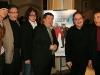 Jean-Nicolas Verreault, Guy Bonnier (scenariste), Patrick Drolet, Remy Girard, Robert Menard (realisateur) et Gaston Lepage. Premiere du film -LE BONHEUR DE PIERRE- au Cinema Imperial de Montreal, le 23 fevrier 2009.
