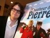 Patrick Drolet. Premiere du film -LE BONHEUR DE PIERRE- au Cinema Imperial de Montreal, le 23 fevrier 2009.