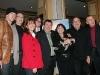 Jean-Nicolas Verreault, Guy Bonnier (scenariste), Patrick Drolet, Remy Girard, Louise Portal, Robert Menard (realisateur) et Gaston Lepage. Premiere du film -LE BONHEUR DE PIERRE- au Cinema Imperial de Montreal, le 23 fevrier 2009.