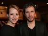 Karine Vanasse (comedienne et coproductrice) et Denis Villeneuve (realisateur). Premiere du film POLYTECHNIQUE au Cinema Imperial de Montreal, le 2 fevrier 2009.