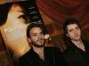Sebastien Huberdeau et Maxim Gaudette. Premiere du film POLYTECHNIQUE au Cinema Imperial de Montreal, le 2 fevrier 2009.