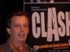 Daniel Lemire. Conference de presse de la piece CLASH de Daniel Lemire, salle Andre-Mathieu de Laval, le 9 fevrier 2009.