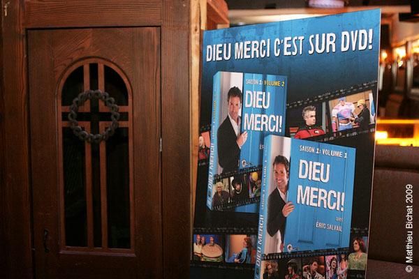 Lancement du DVD de la saison 1 de l emission DIEU MERCI au bar Le Confessionnal de Montreal, le 29 janvier 2009.
