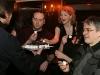 Martin Heroux et Myriam Poirier (comediens maison) et Yvon Bilodeau (Metteur en scene). Lancement du DVD de la saison 1 de l emission DIEU MERCI au bar Le Confessionnal de Montreal, le 29 janvier 2009.