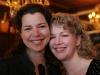 Caroline Lavigne et MyriamPoirier (comediennes maison). Lancement du DVD de la saison 1 de l emission DIEU MERCI au bar Le Confessionnal de Montreal, le 29 janvier 2009.