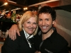 Danielle Ouimet et Eric Salvail. Lancement du DVD de la saison 1 de l emission DIEU MERCI au bar Le Confessionnal de Montreal, le 29 janvier 2009.