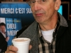 Gaston Lepage (juge de l emission). Lancement du DVD de la saison 1 de l emission DIEU MERCI au bar Le Confessionnal de Montreal, le 29 janvier 2009.