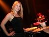 Melisssa Lavergne (percussioniste). Lancement de -De quoi je suis fait- d Eric Poulin au La Tulipe de Montreal, le 4 novembre 2008.