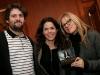 Catherine Durand et Sylvie Paquette. Lancement du premier album -Territoires Nord-  du compositeur Frederick Baron a la Maison Ludger-Duvernay a Montreal, le 6 novembre 2008.