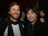 Pascal Dufour et Pierre Marchand. Lancement de Loveshit de Jason Bajada au Savoy du Metropolis de Montreal, le 10 fevrier 2009.