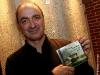 Michel Faubert. Lancement album -La Traversee Miraculeuse- des Charbonnniers de l'Enfer et de La Nef, au 400 de l'avenue Atlantic a Montreal, le 5 novembre 2008.