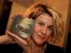 Marie-Jo Thériault.Lancement du premier album de Marie-Pierre Arthur au Lion d Or de Montreal, le 3 mars 2009. La formation Karkwa accompagnait l artiste sur scene.