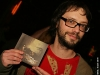 Philippe B. Lancement du premier album de Marie-Pierre Arthur au Lion d Or de Montreal, le 3 mars 2009. La formation Karkwa accompagnait l artiste sur scene.