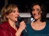 Avec sa fille Florence K. Lancement du 13eme album de Natalie Choquette -Terra Mia- au Suzo Resto Lounge de Montreal, le 27 novembre 2008.