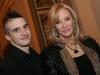 Nanette Workman et son fils. Lancement du livre Biographique de Georges-Hebert Germain sur Rene Angelil, a la salle Versailles de l Hotel Windsor de Montreal, le 2 mars 2009.
