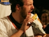Martin Boily. Match regulier 2 de la saison 2009 de la LNI, opposant l equipe des Blancs a l equipe des Bleus, au Medley de Montreal, le 16 fevrier 2009.
