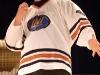 Daniel Malenfant. Match regulier 2 de la saison 2009 de la LNI, opposant l equipe des Blancs a l equipe des Bleus, au Medley de Montreal, le 16 fevrier 2009.