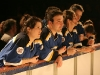 Jolene Morin, Rene Rousseau, Isabelle Brouillette, JF Aube, Salome Corbo. Match regulier 2 de la saison 2009 de la LNI, opposant l equipe des Blancs a l equipe des Bleus, au Medley de Montreal, le 16 fevrier 2009.