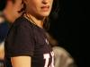 Salome Corbo. Match regulier 2 de la saison 2009 de la LNI, opposant l equipe des Blancs a l equipe des Bleus, au Medley de Montreal, le 16 fevrier 2009.