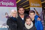 Benoît Gagnon, sa copine Jenna, et ses enfants