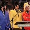 Chick'n Swell. Conference de presse pour le devoilement des nominations au Gala Les Olivier au Monument National, le 13 avril 2011. Utilisation quelle qu'elle soit strictement interdite sans l'accord de l'auteure elise.lafreniere@videotron.ca