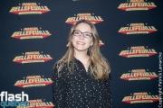 Annie Villeneuve - Premiere de Francois Bellefeuille - Le Plus Fort Au Monde à la Place des Arts.