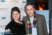 """Amir Khadir lors de la première mondiale du documentaire """"YES"""" de Félix Rose et Eric Piccoli dans le cadre des Rendez-vous du cinéma québécois, au Cinéma Cineplex Odeon Quartier Latin, à Montréal, le vendredi 3 mars 2017."""