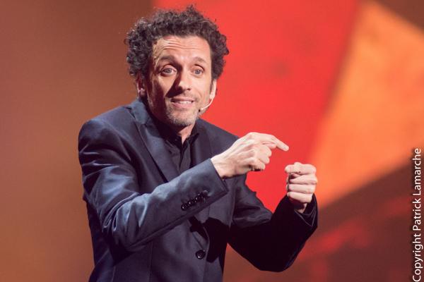 Performance impeccable d'André Sauvé dans le Gala la gourmandise à Juste pour rire