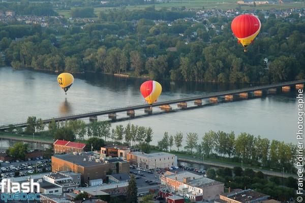 La folie d'une envolée avec Anouk Meunier à l'International de montgolfières de St-Jean-sur-Richelieu